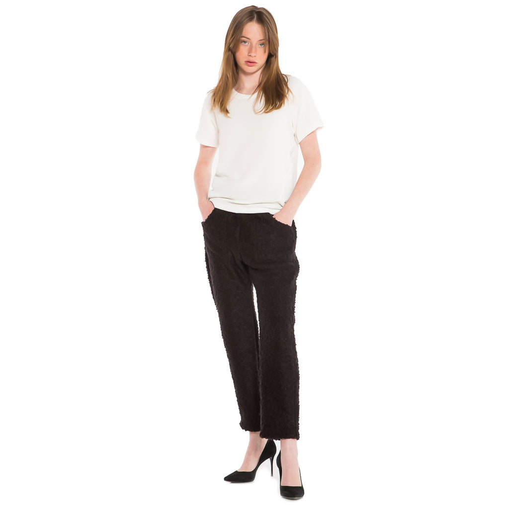 EDGAR mv, TOP, EDGARmv | Birken Tee White Crepe - Edgar Martha's Vineyard