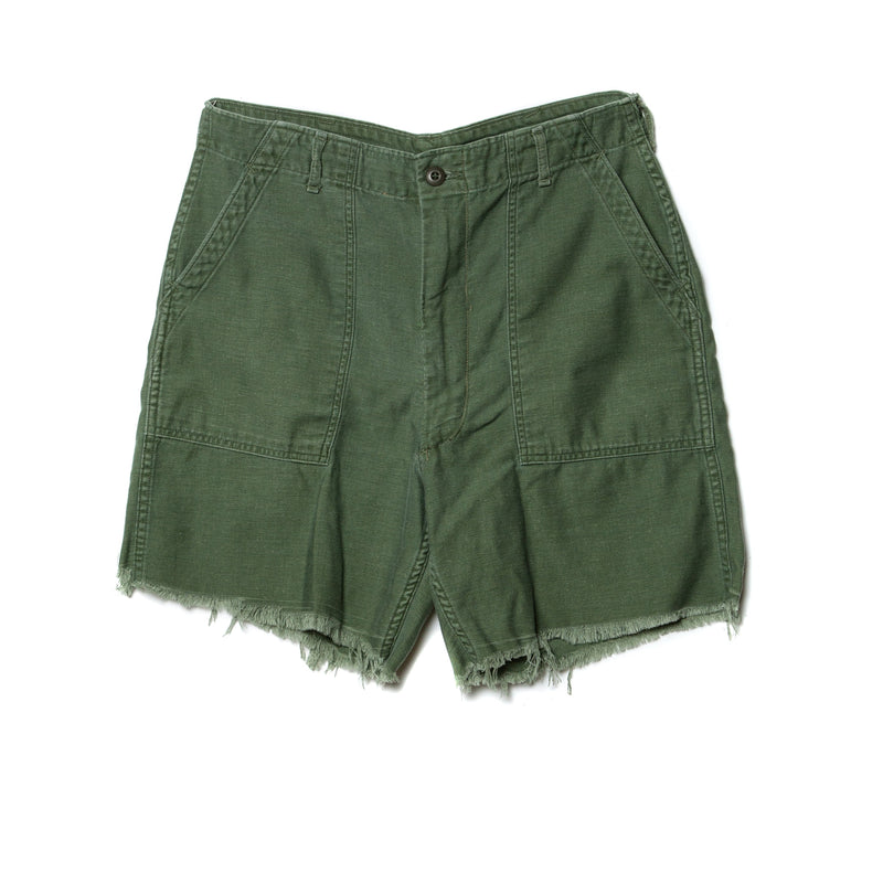 EDGAR mv, BOTTOMS, EDGARmv | Vintage Collection Army Cut Off Shorts - Edgar Martha's Vineyard