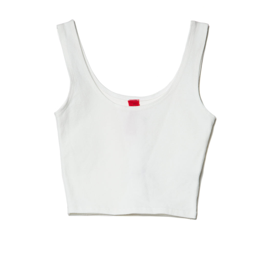 EDGAR mv, TOP, EDGARmv | Organic Cotton Cropped Tank Top - Edgar Martha's Vineyard