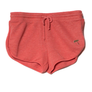 EDGAR mv, BOTTOMS, EDGARmv | Organic Cotton French Terry Gym Shorts with Beach Scene Symbol - Edgar Martha's Vineyard