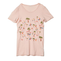 EDGAR mv, TOP, EDGARmv |  Organic Cotton Beach Scene T-Shirt - Edgar Martha's Vineyard
