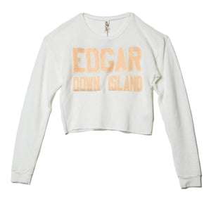 EDGAR mv, TOP, EDGARmv | Recycled Plastic and Organic Cotton French Terry Sweatshirt - Edgar Martha's Vineyard