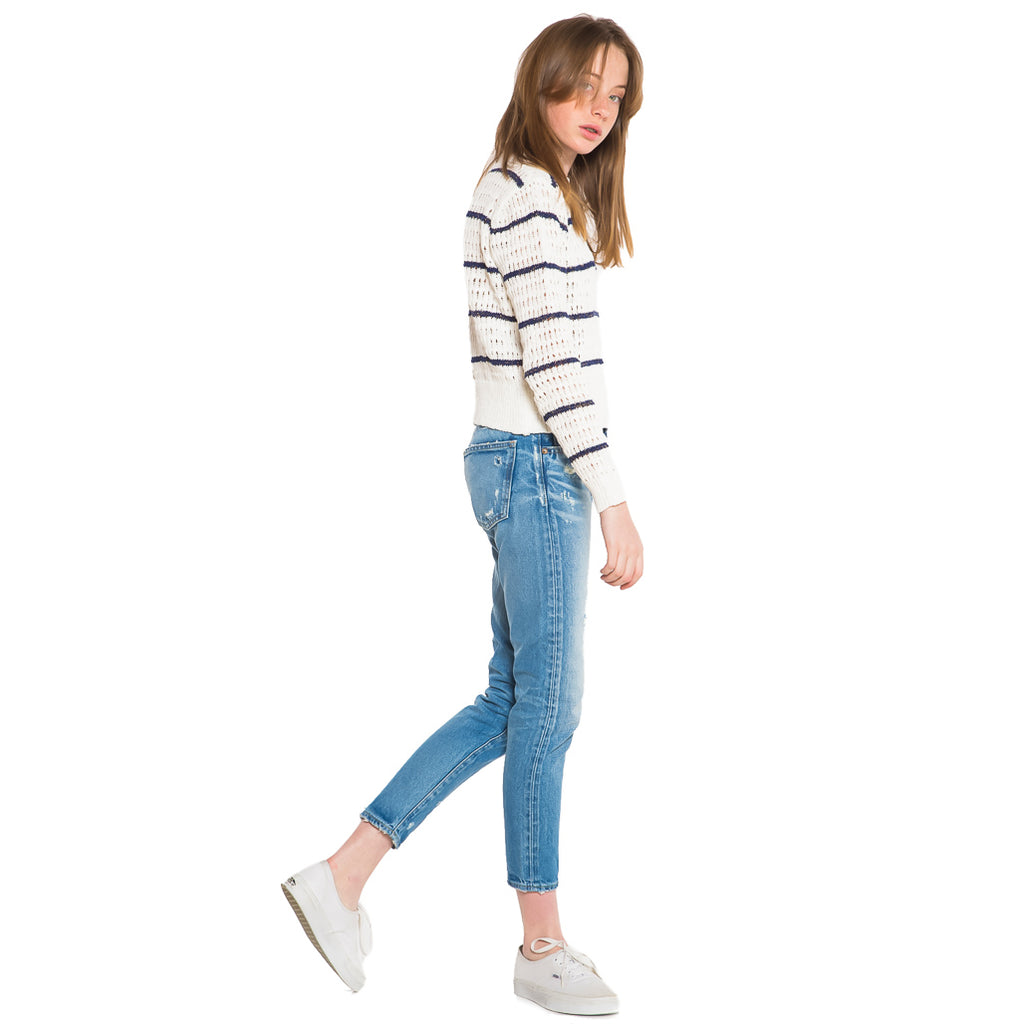 SUBOO | Shoreline Stripe Knit Jumper Top