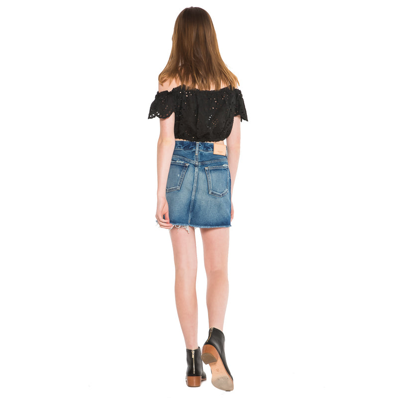 MOUSSY, DENIM, MOUSSY | Spencer Skirt - Edgar Martha's Vineyard