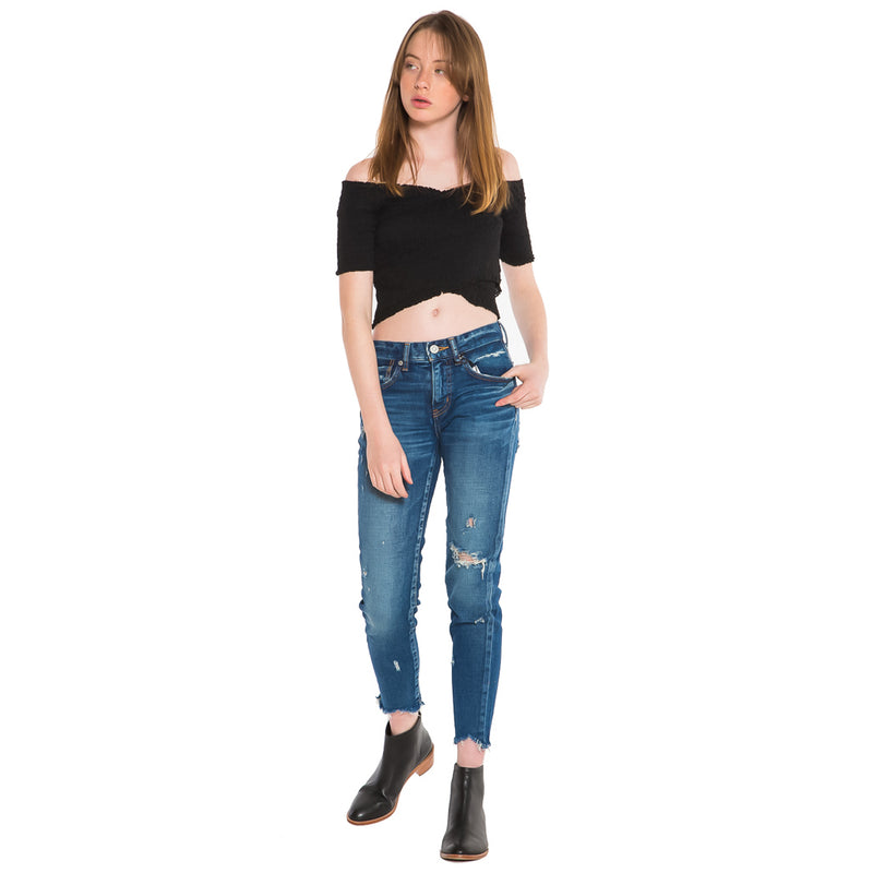 MOUSSY, DENIM, MOUSSY | Glendele Skinny 2250 - Edgar Martha's Vineyard