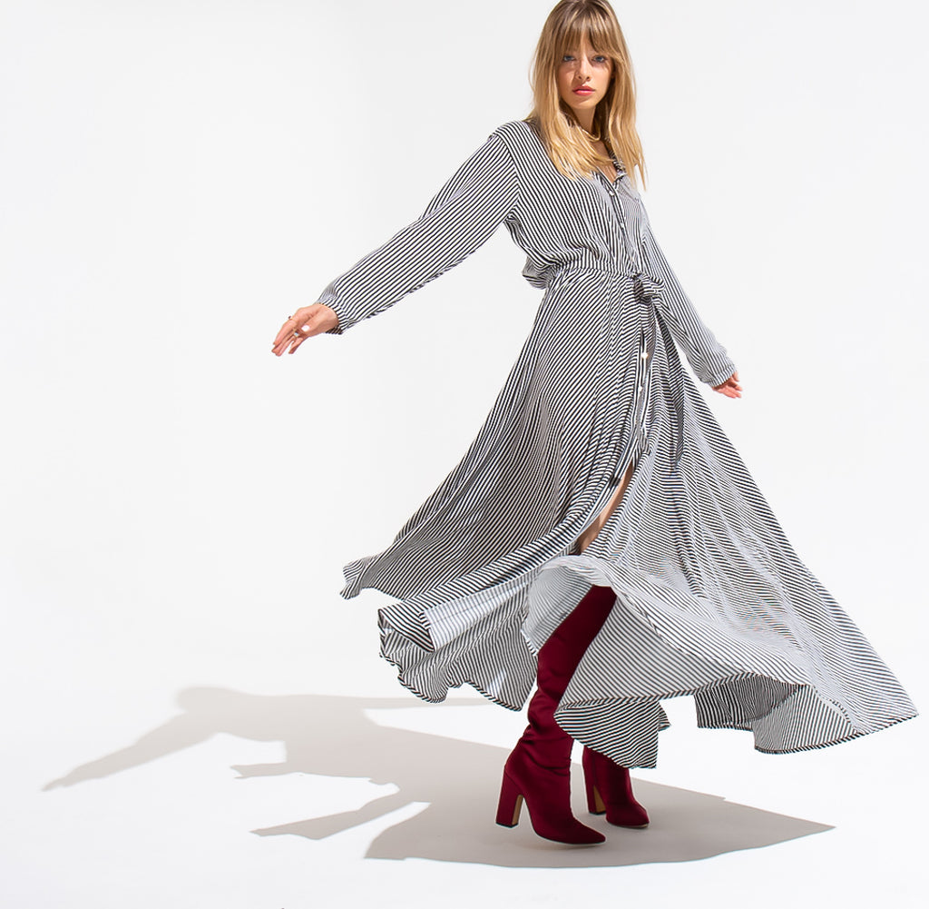 EDGAR mv, DRESS, EDGARmv | Full Circle Shirt Dress - Edgar Martha's Vineyard