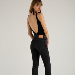 MOUSSY, DENIM, MOUSSY | Comfort Velma Skinny - Edgar Martha's Vineyard