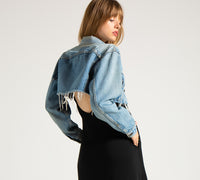 EDGAR mv, JACKET, EDGARmv | Vintage Levi's Cropped Denim Jacket - Edgar Martha's Vineyard