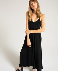 EDGAR mv, DRESS, EDGARmv | Organic Cotton Adjustable Strap Maxi Dress - Edgar Martha's Vineyard