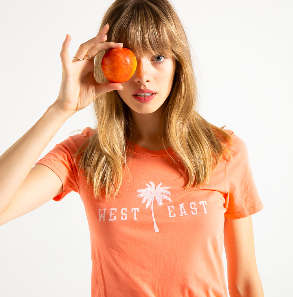 EDGAR mv, TOP, EDGARmv |Organic Cotton West Meets East Classic T-shirt - Edgar Martha's Vineyard
