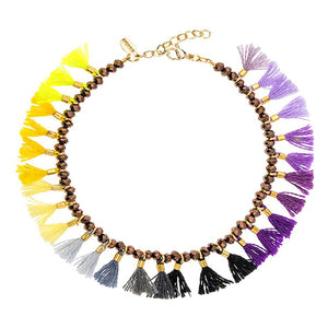 SHASHI, JEWELRY, SHASHI | Jamie Bracelet Purple Gold - Edgar Martha's Vineyard