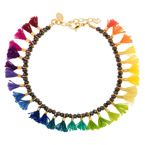 SHASHI, JEWELRY, SHASHI | Jamie Bracelet Rainbow - Edgar Martha's Vineyard