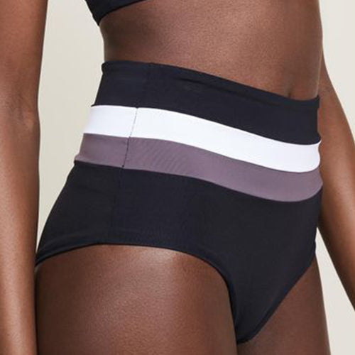L-SPACE, SWIM, L-SPACE | Bold Striped Bottoms - Edgar Martha's Vineyard