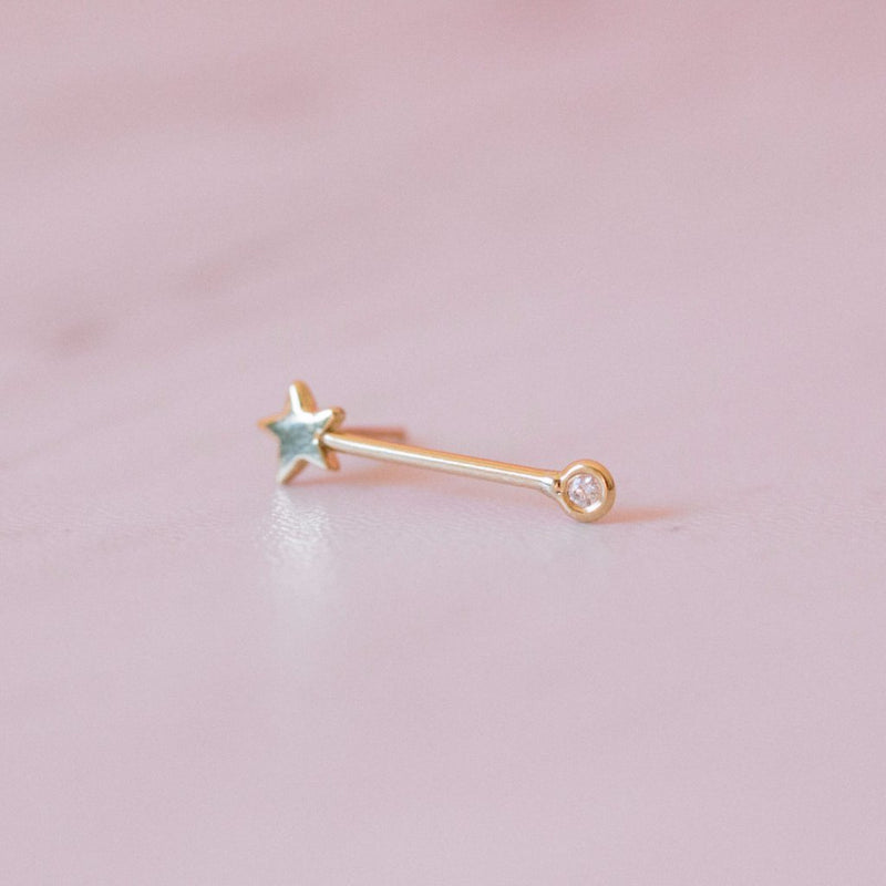 GJENMI, JEWELRY, GJENMI | Shooting Star Earring - Edgar Martha's Vineyard