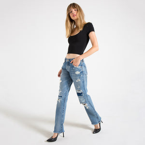 MOUSSY, DENIM, MOUSSY VINTAGE | Gerald Straight 2600 - Edgar Martha's Vineyard