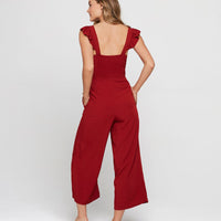 L-SPACE, SWIM, L-SPACE| Pasadena Red Jumper - Edgar Martha's Vineyard