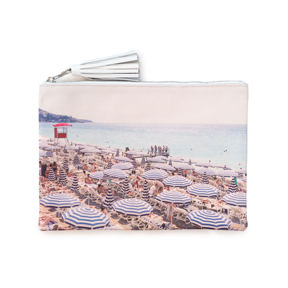 GRAY MALIN, ACCESSORY, GRAY MALIN | The French Riviera Leather Pouch - Edgar Martha's Vineyard