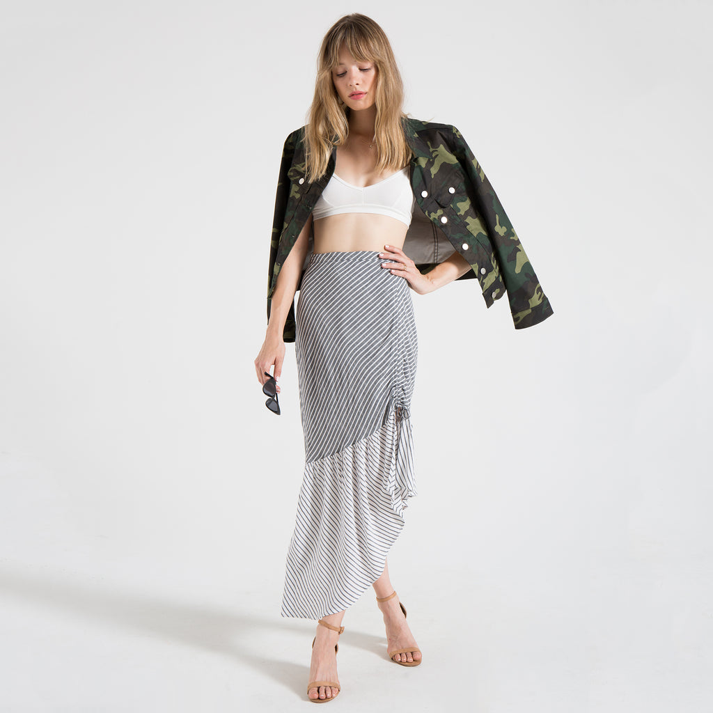 SUBOO | Ruched Skirt