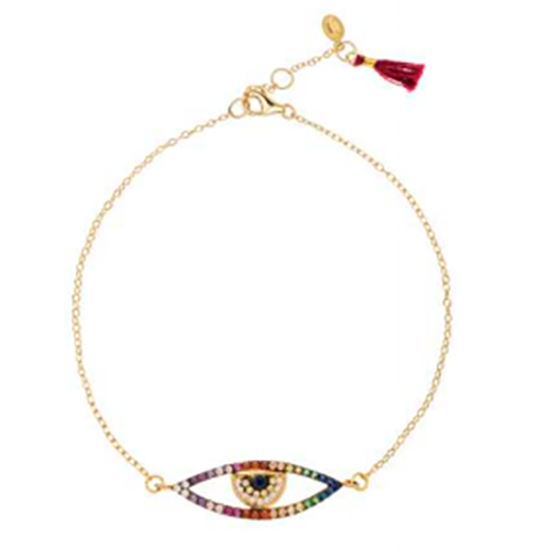 SHASHI, JEWELRY, SHASHI | Rainbow Eye Bracelet - Edgar Martha's Vineyard