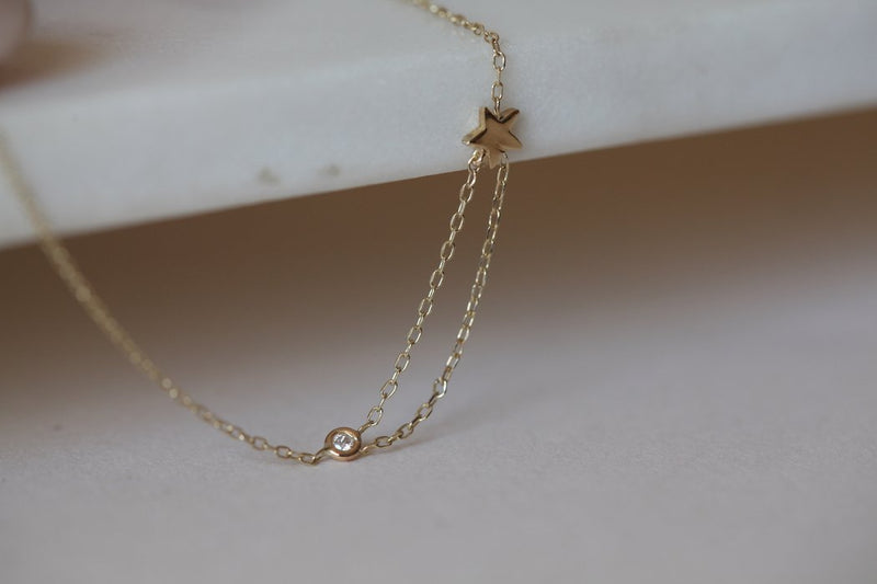 GJENMI, JEWELRY, GJENMI | Shooting Star Necklace - Edgar Martha's Vineyard