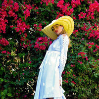 GLADYS TAMEZ MILLINERY, ACCESSORIES, GTM | Turlington Straw Hat - Edgar Martha's Vineyard
