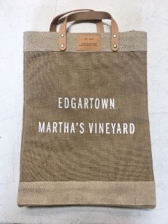 APOLIS, ACCESSORIES, APOLIS | Edgartown Large Tote by Apolis and EDGARmv - Edgar Martha's Vineyard