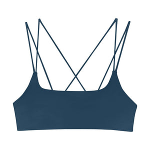 MIKOH, SWIM, MIKOH | Alapio Cross Back Top - Edgar Martha's Vineyard
