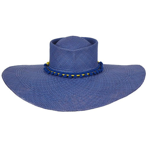 GLADYS TAMEZ MILLINERY, ACCESSORIES, GTM | Cindy Panama Beach Hat - Edgar Martha's Vineyard