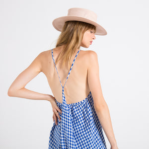 EDGAR mv, DRESS, EDGARmv | Japanese Cotton Adjustable Strap Mini - Edgar Martha's Vineyard