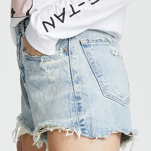 MOUSSY, DENIM, MOUSSY VINTAGE | Etna Shorts - Edgar Martha's Vineyard