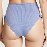 L-SPACE, SWIM, L-SPACE| Summer Love Plaid Bummin' Bikini Bottom - Edgar Martha's Vineyard