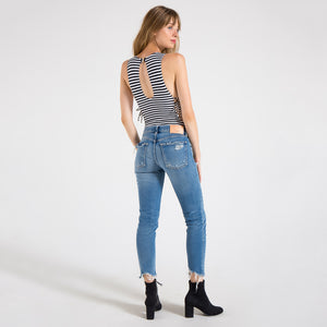 MOUSSY, DENIM, MOUSSY | Comfort Lindsay Skinny - Edgar Martha's Vineyard