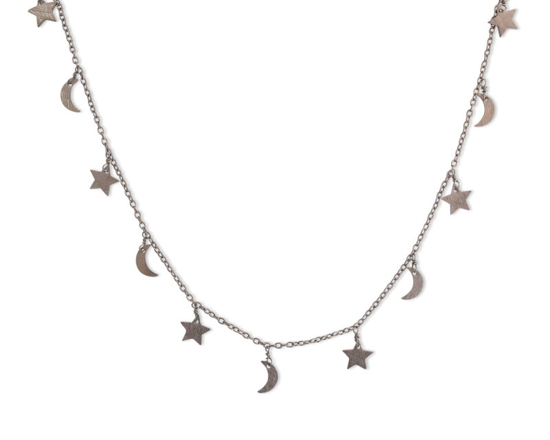 ELECTRIC PICKS, JEWELRY, ELECTRIC PICKS | Starlight 1 layer necklace - Edgar Martha's Vineyard
