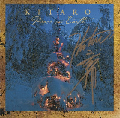 [LIMITED] Peace On Earth CD & DVD Set with Kitaro Autograph (18 Left)