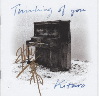 [FRAMED VINYL&CD SET] Thinking Of You (Remastered) with Kitaro Autograph