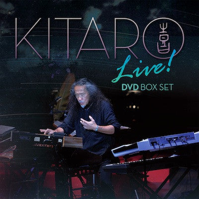[BOX SET] Kitaro Live DVD Box Set (3 DVDs) with Kitaro Autograph (5 LEFT)
