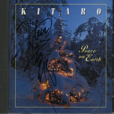 [LIMITED] Peace On Earth with Kitaro Autograph (10 Left)