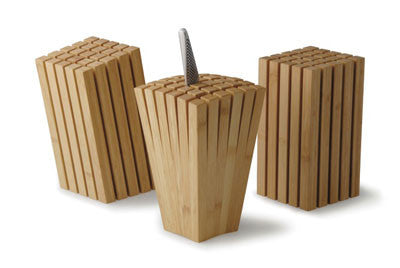 "TEORI Brand Knife Block ""SPLIT"" Flair Pattern"
