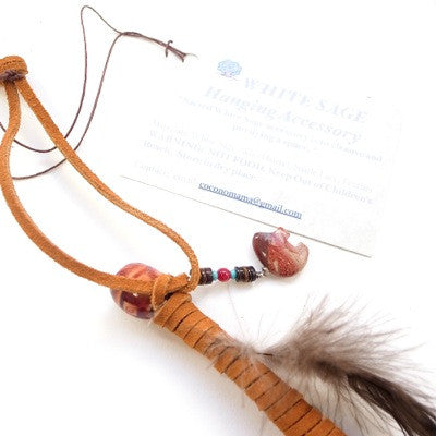 [LIMITED] White Sage Hanging Accessory (BROWN)
