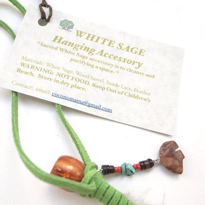[LIMITED] White Sage Hanging Accessory (GREEN)