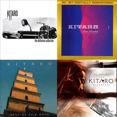[Special Set] Kitaro Best Series Set (4 CDs)