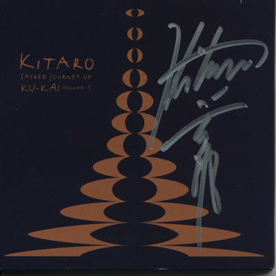 [LIMITED] Sacred Journey of Ku-Kai Vol.3 with Kitaro Autograph (7 Left)