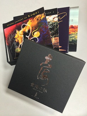 [DELUXE BOX SET] Sacred Journey of Ku-Kai (4 CDs) with Kitaro Autograph