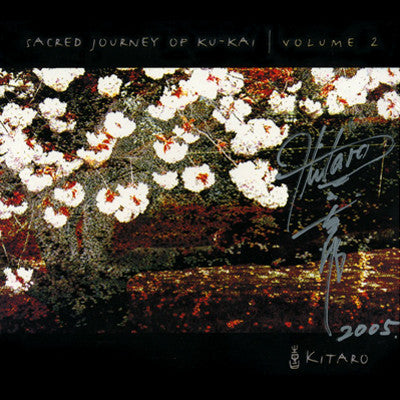 [LIMITED] Sacred Journey of Ku-Kai  Vol.2 with Kitaro Autograph (8 Left)