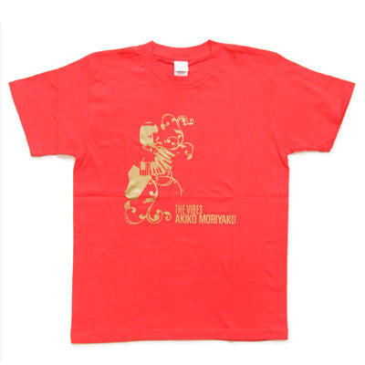 [LIMITED] Akiko Moriyako The Vibes T-Shirts: Red (5 Left)