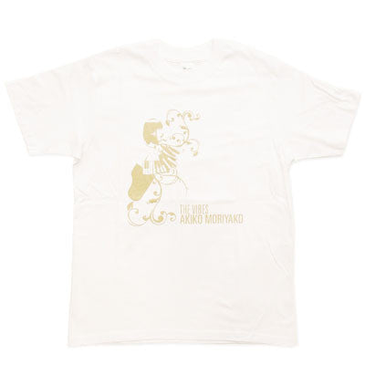 [LIMITED] Akiko Moriyako The Vibes T-Shirts: White (5 Left)