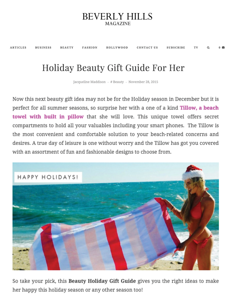 Beverly Hills Magazine: Holiday Beauty Gift Guide
