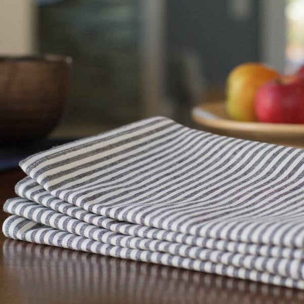 Everyday Napkins - Grey Stripe