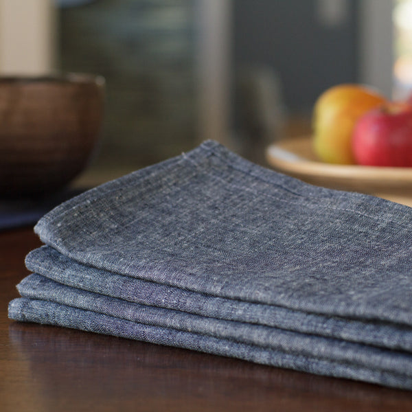 Everyday Napkins - Nordic Blue Chambray