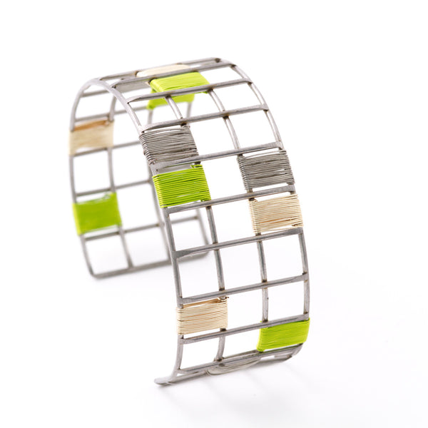 Wrapped Wire Cuff